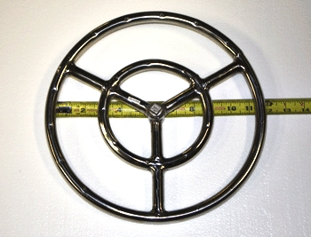 12 inch steel and stainless steel burner rings