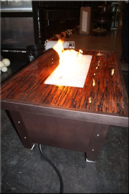 Fireglass Fire Table