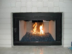 installation process of a clean burning fire glass fireplace modern rh fireplaceglassdirectvent com