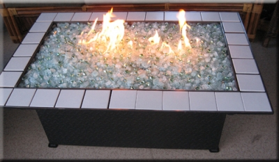 Custom built fireplace designs by moderustic we create for Concreteworks fire table