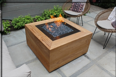 Judy Goldman Santa Monica Back Yard Fire Pit