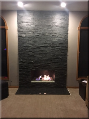 Ken Beauvais Fireplace