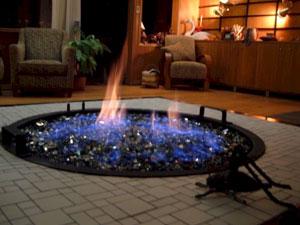The Indoor Fire Table Below Has