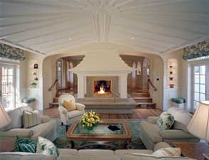 fire glass ice in fireplaces and fire pits rh fireplaceglassdirectvent com houses with fireplaces front of house houses with fireplaces on the corner
