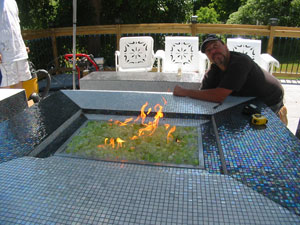 commercial custom fire pits