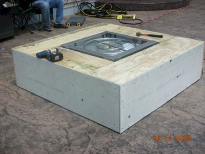 construction designs for fire pits