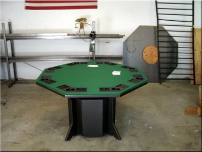 There Is A Propane Tank Under The Table Base. These Can Also Be Outfitted  For Natural Gas As Well.